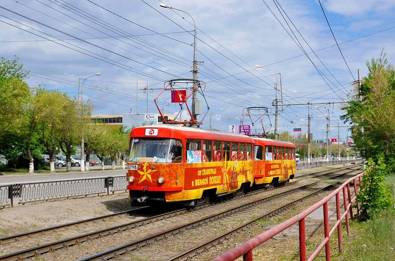 В Волгограде отправился в рейсы «трамвай Победы»