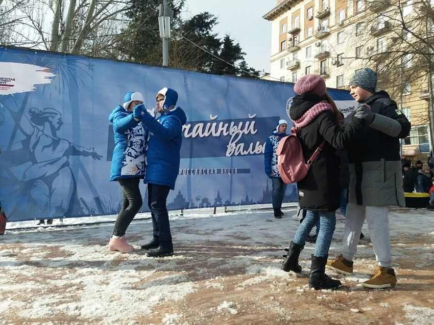 Россия посвятила «Случайный вальс» юбилею Сталинградской Победы