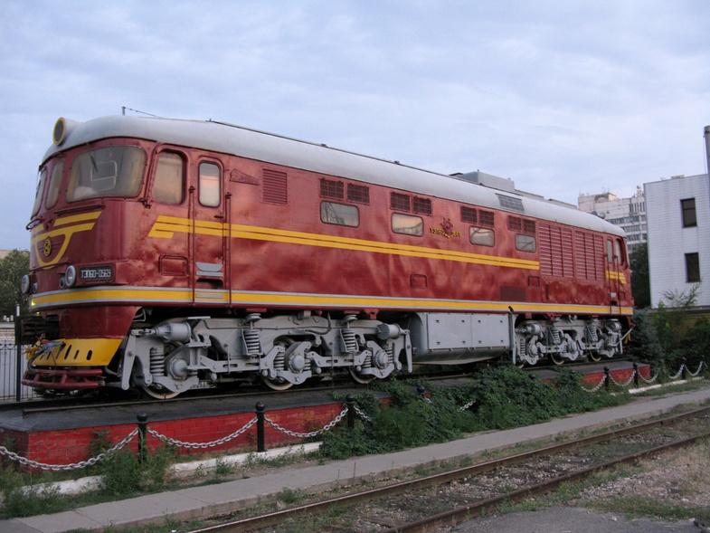 В Волгограде открыли мемориальную доску в память о железнодорожниках